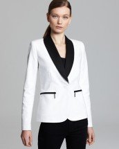 Spend Some Bank: Michael Michael Kors Stretch Cotton Blazer ($140)