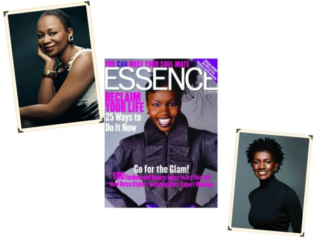 Vanessa K. Bush is Essence magazine's new Editor. (Images via Essence).