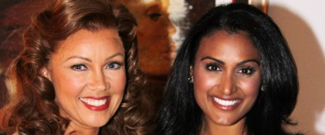 Breaking Barriers to Beauty: Vanessa Williams, Miss America 1984, with Nina Davuluri, Miss America 2013.