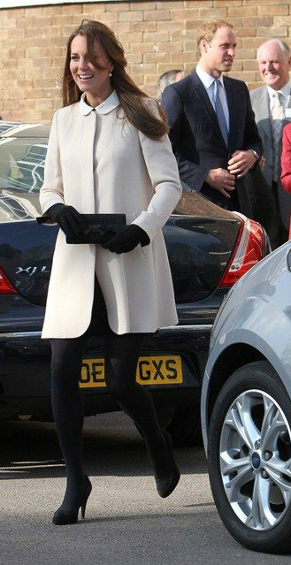 Kate Middleton in Black Tights