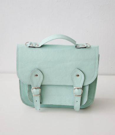 Bag number 3 leather satchel shoulder strap
