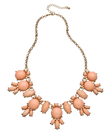 Blu Bijoux Pink Bubble Necklace