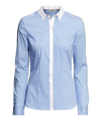 H&M light blue shirt