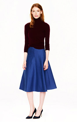 J.Crew Collection midi skirt