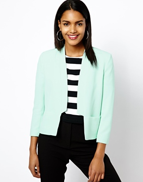 River Island Collarless Jacket